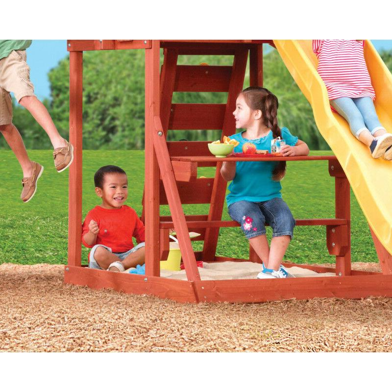 Cedarbrook Wooden Playset KidKraft