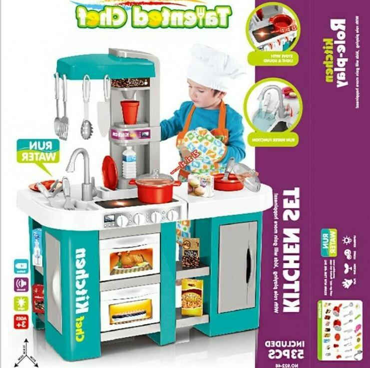 Child Chef Cooking Pretend Set Toddler Gifts