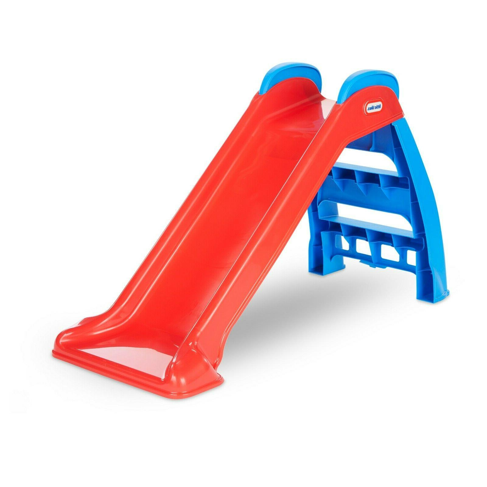 Children Foldable Activity Slide Little Playset