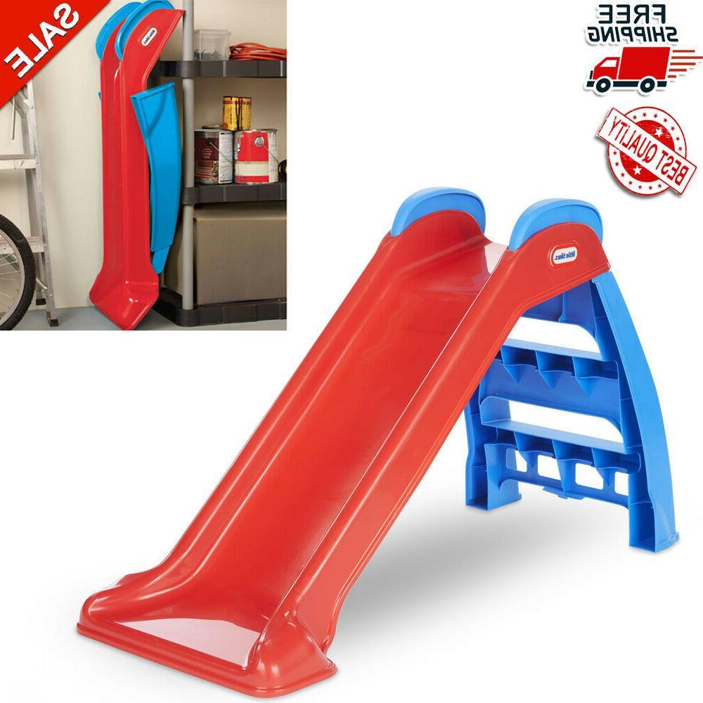 children foldable activity slide little tikes indoor