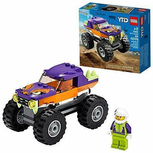 city monster truck 60251 playset building kit