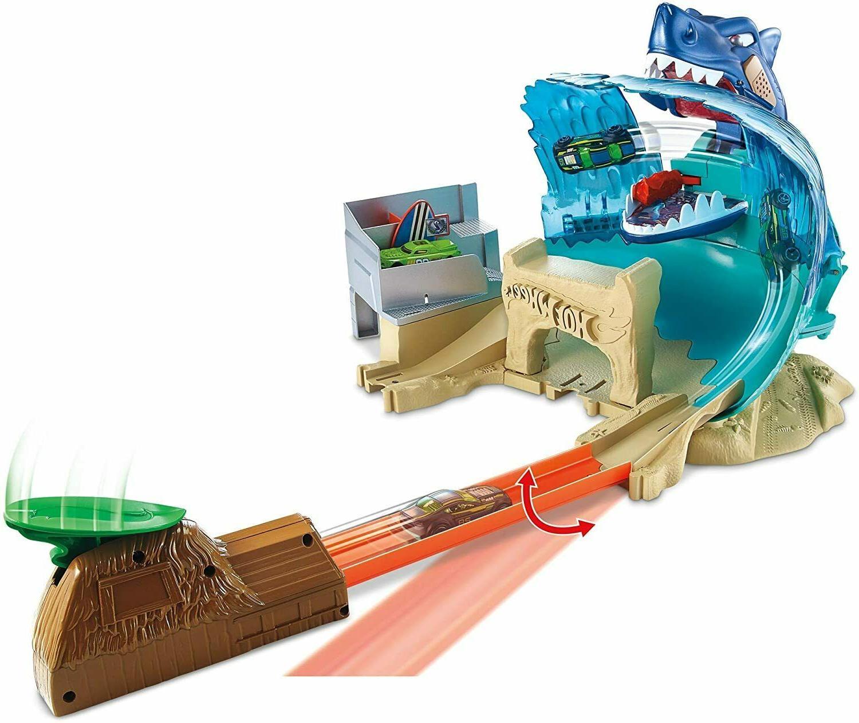 Mattel - Hot Wheels - City Shark Beach Battle Play Set