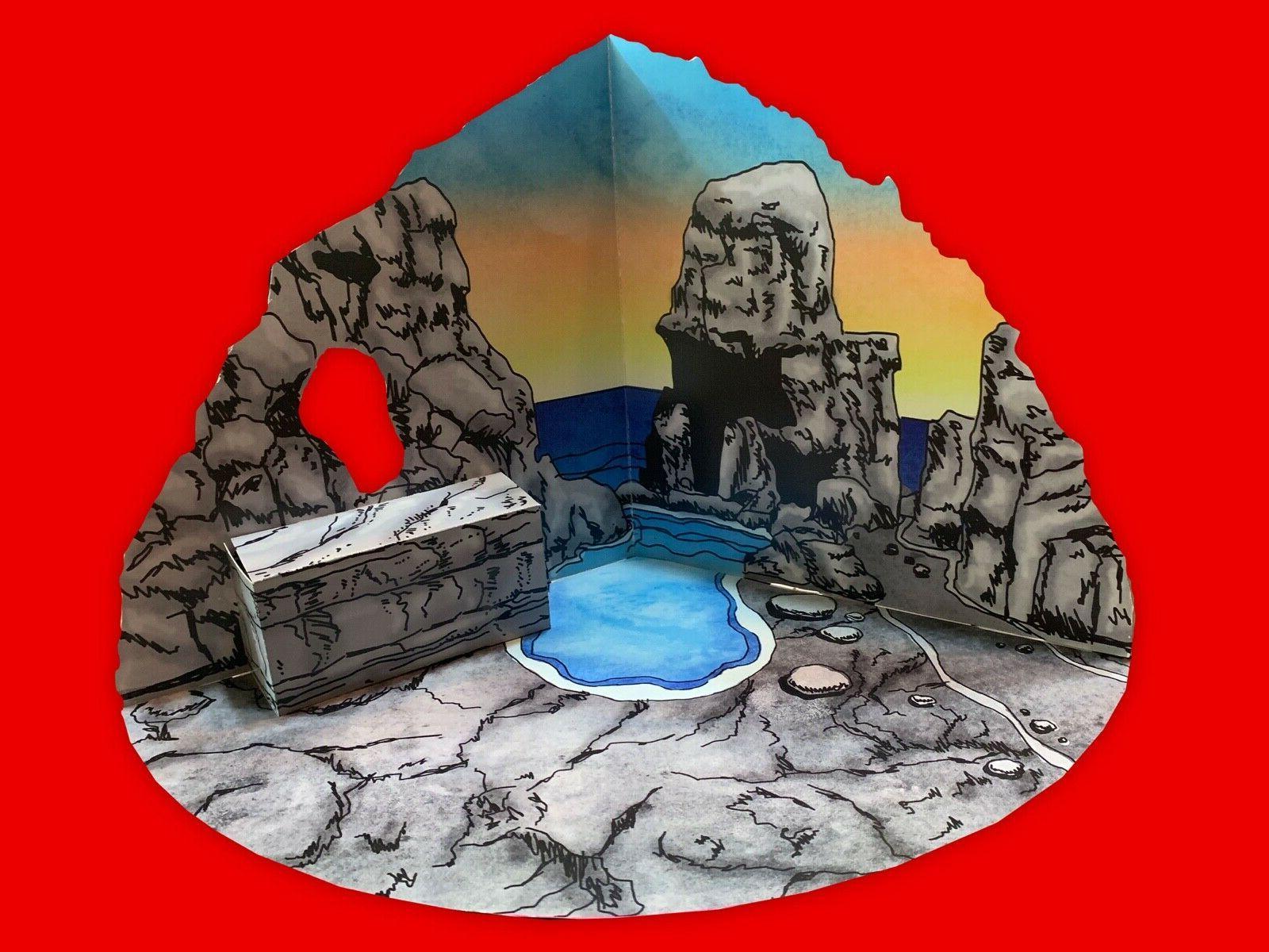 CLASH OF TITANS custom Lair Playset