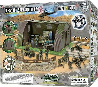 Click N' Military Army Base Command Center Accessories