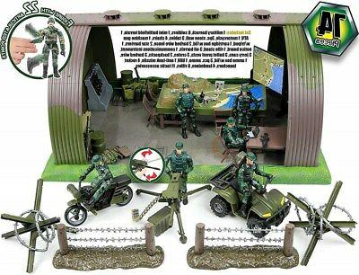 Click N' Military Army Base Center Play Set Accessories