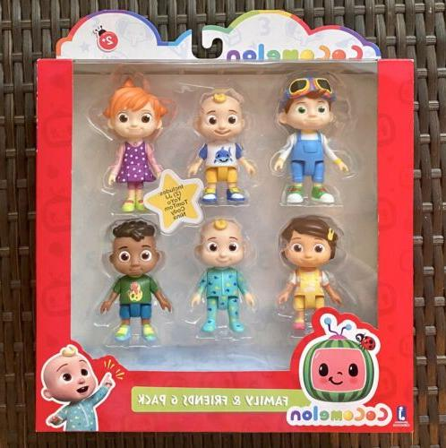 cocomelon family and friend 6 pack figure