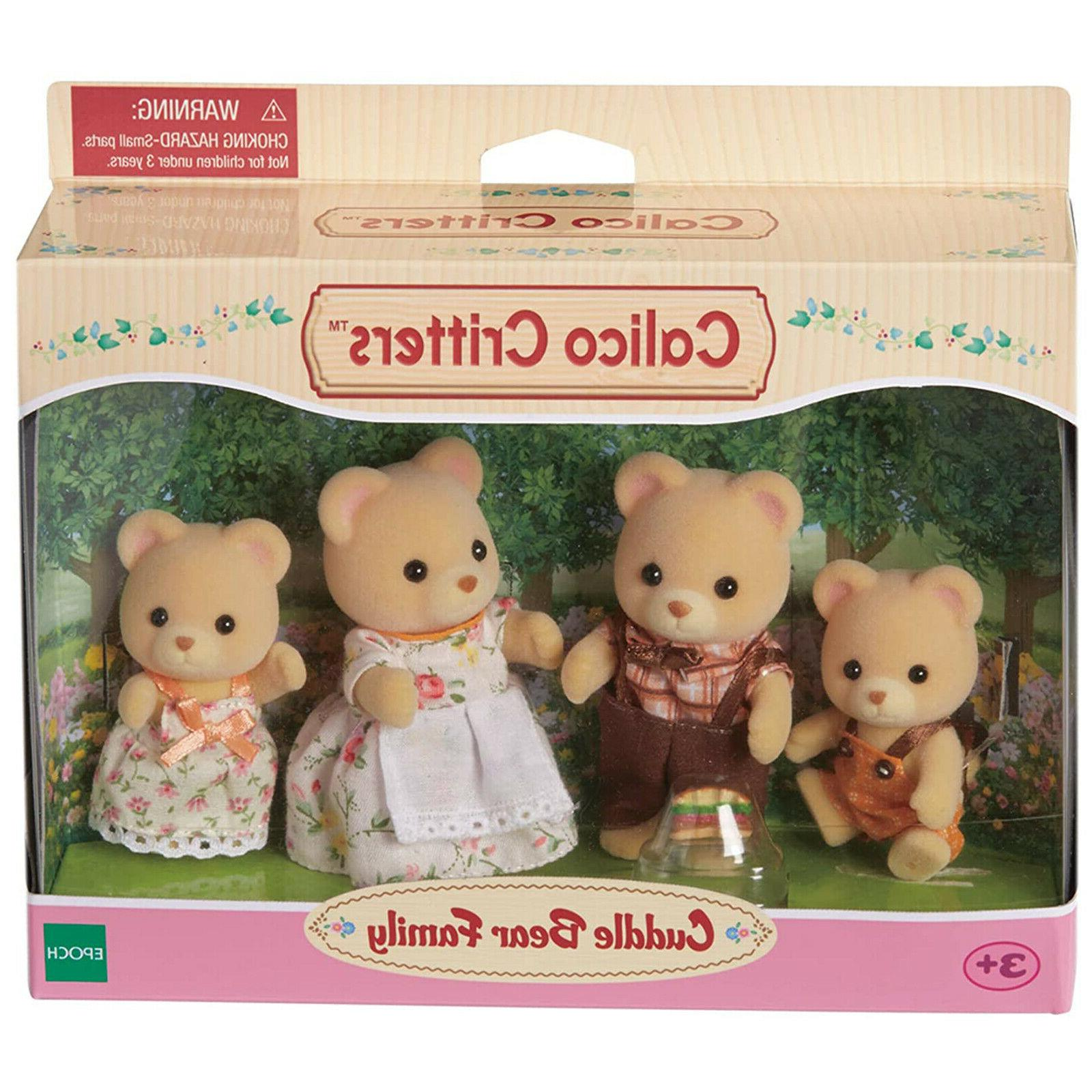 cuddle bear family set cc1509 new in