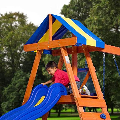Backyard Discovery Dayton Cedar Swing Set