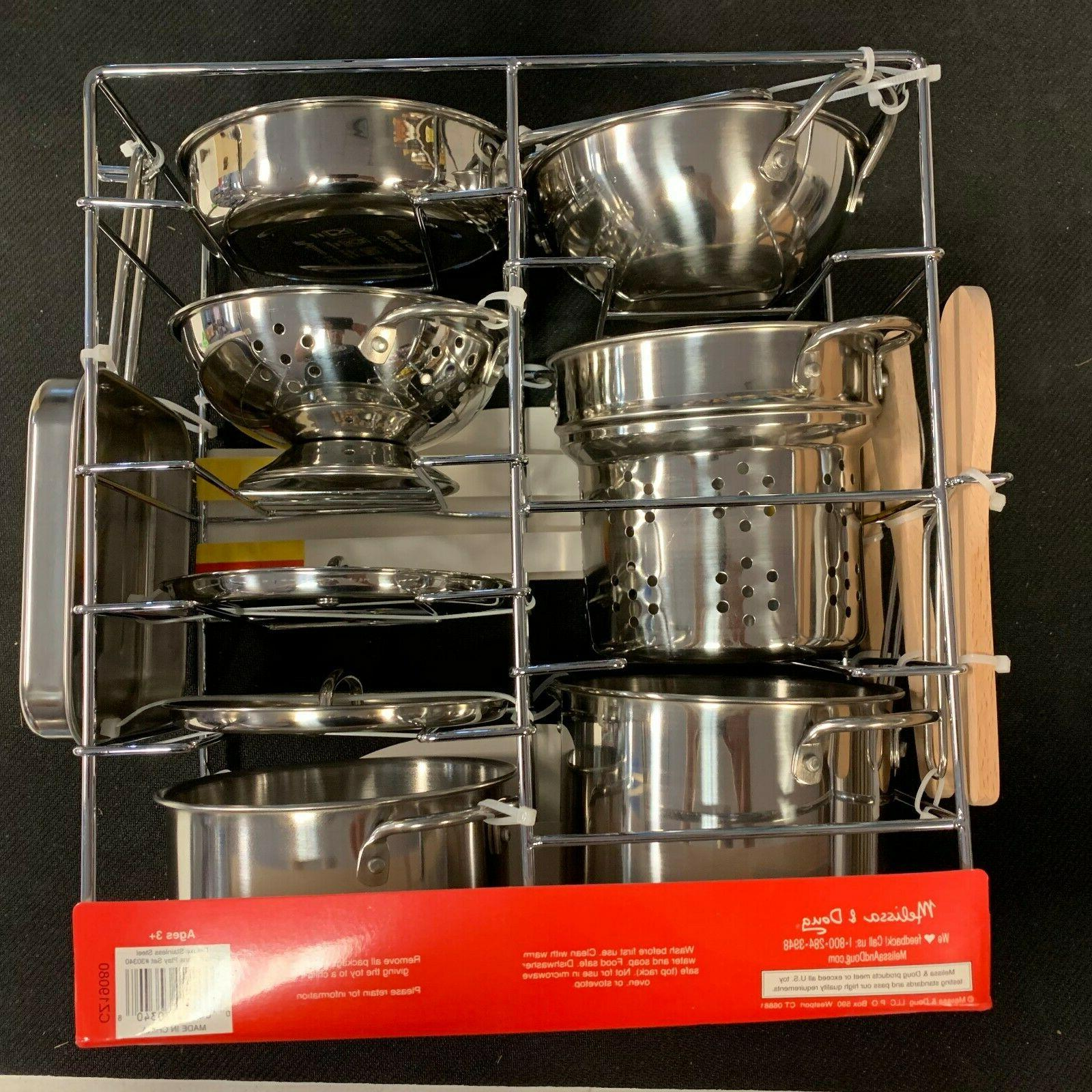 DELUXE & Doug Stainless Steel and Set