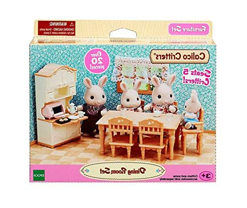 Calico Critters Dining Set