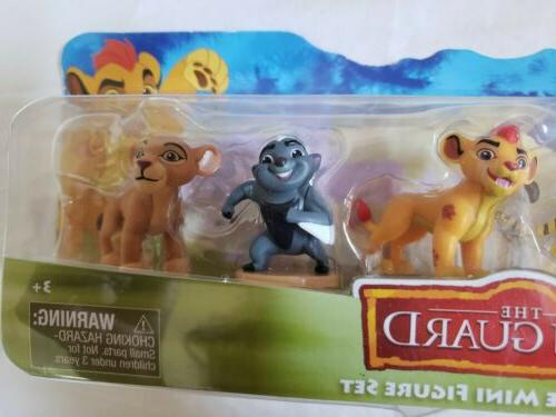 Just 5-Figure Lionguard Mini Figure Set