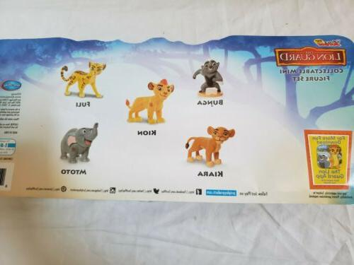 Just Play Junior 5-Figure Lionguard Collectible Mini