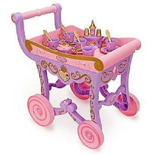 disney multi princess deluxe tea cart play