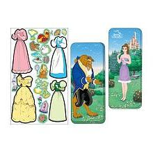 Disney Princess Beauty & the Beast Magnetic Paper Dolls Coll