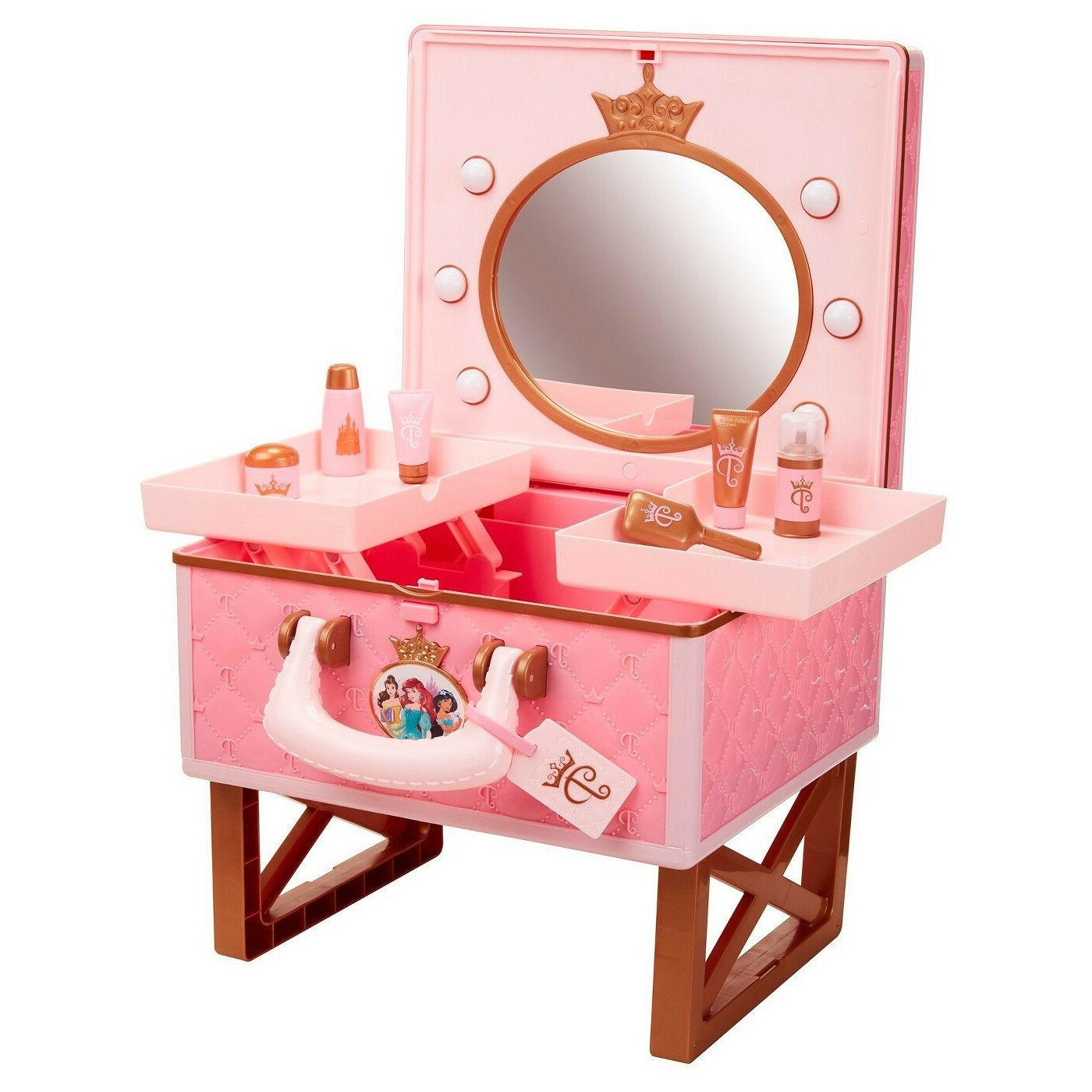 Disney Princess Style Collection Travel Light-Up Vanity Beau
