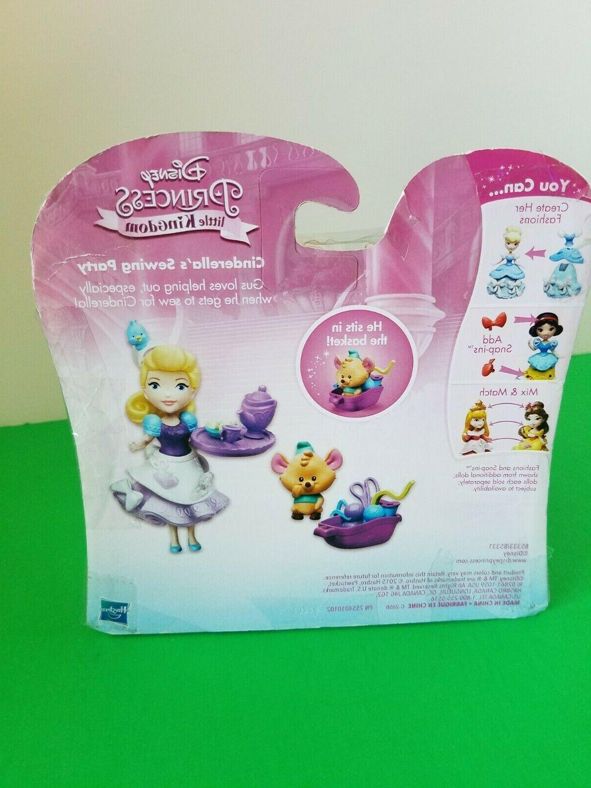 HASBRO Disney Princess Kingdom SEWING SNAP IN PLAYSET