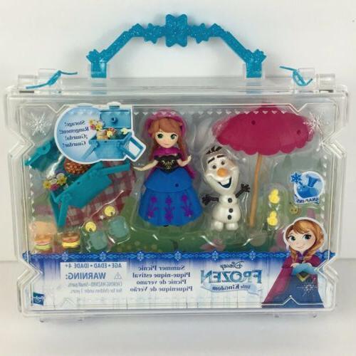 disney princess little kingdom frozen playset anna
