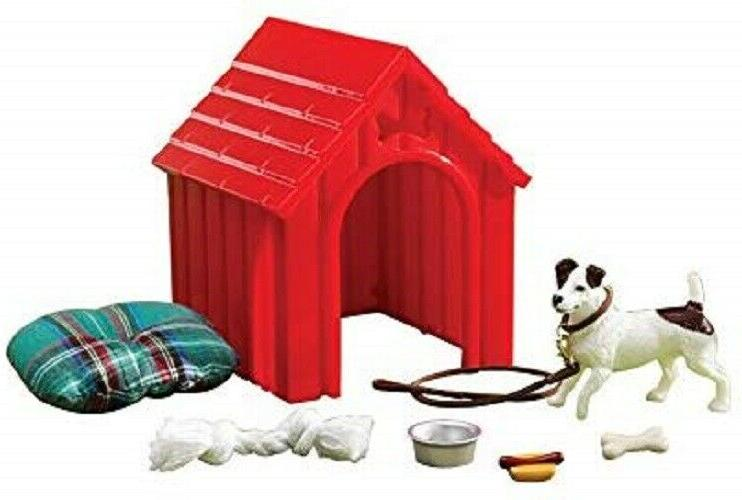 dog house play set toy stablemates model