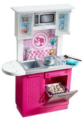 doll and kitchen furniture set