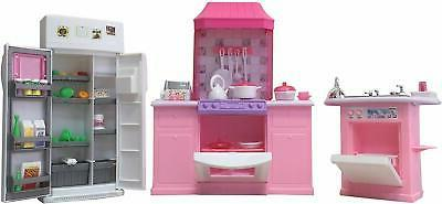 dollhouse furniture beautiful design deluxe kitchen play