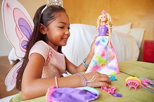 Barbie Dreamtopia Rainbow Fairytale Dress Up Set, Blonde