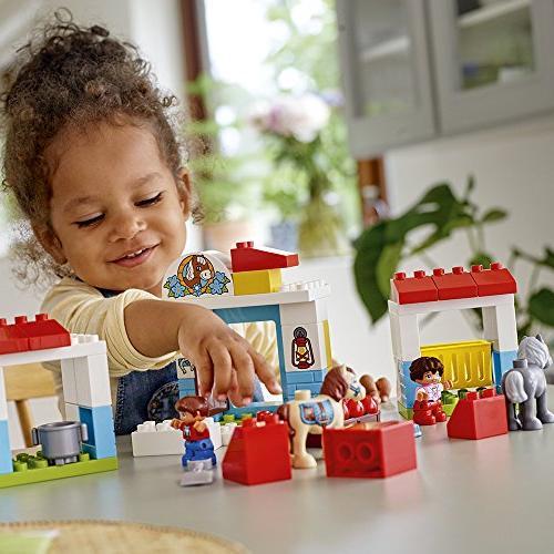 LEGO Town Farm Pony Blocks