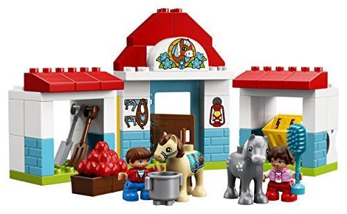 LEGO Town Farm Pony Stable 10868 Blocks