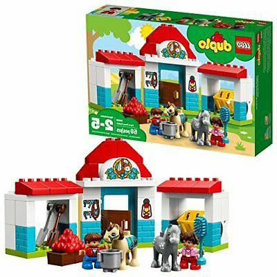 LEGO DUPLO Town Farm Pony Stable 10868 Building Blocks