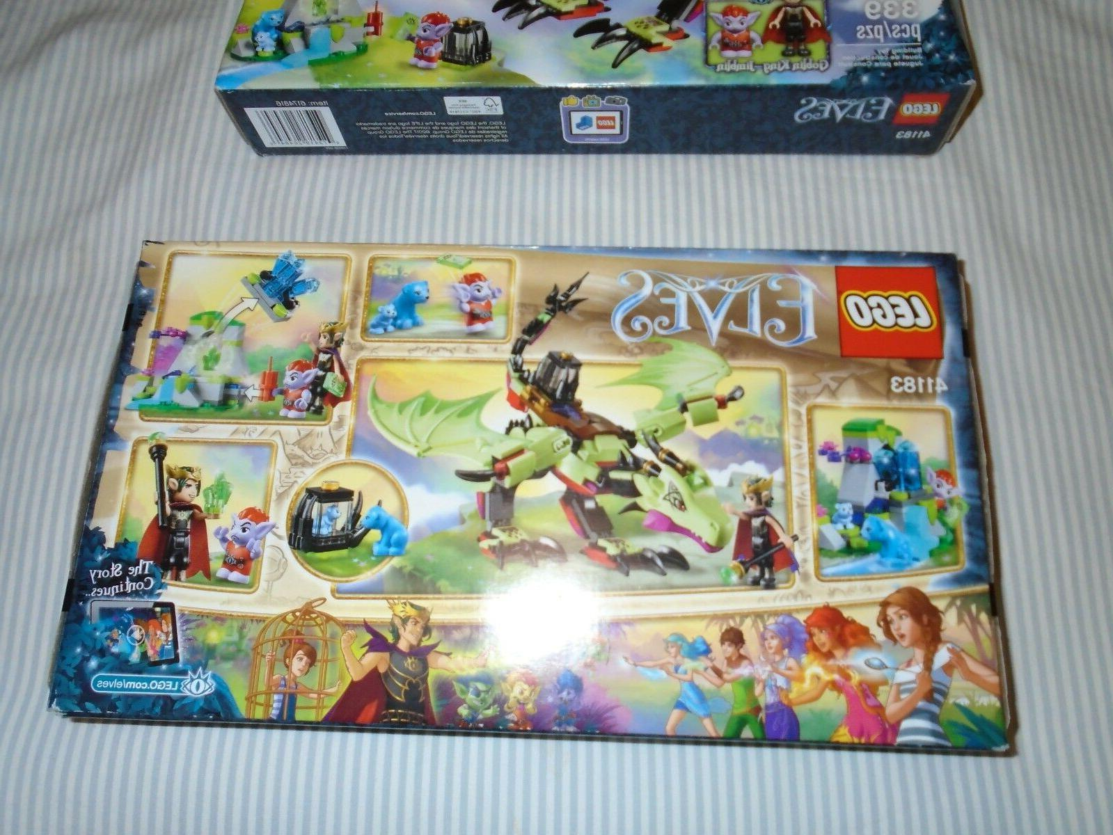 LEGO ELVES GOBLIN EVIL DRAGON PLAYSET! SEALED NEW-Free