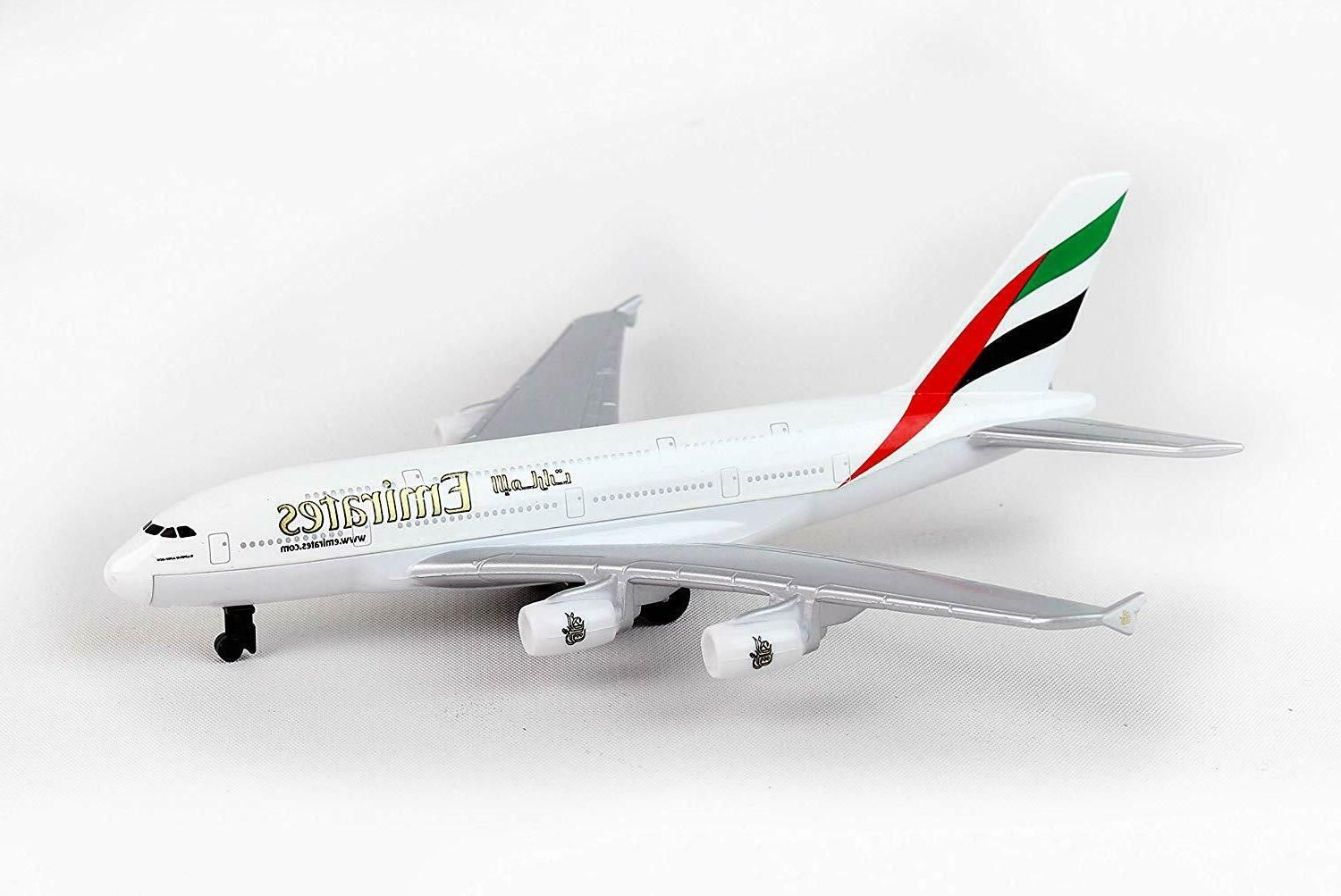 emirates a380 single plane toy model