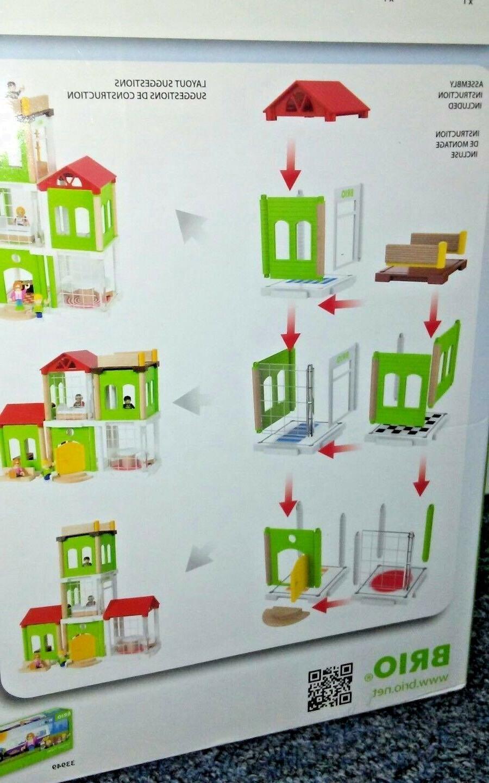 46pc Brio Family House 33941 New complete in original