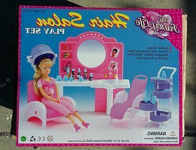 fancy life dollhouse furniture size beauty hair