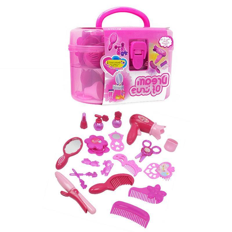 New Fashion Girl Beauty Salon Accessories Children's Games T