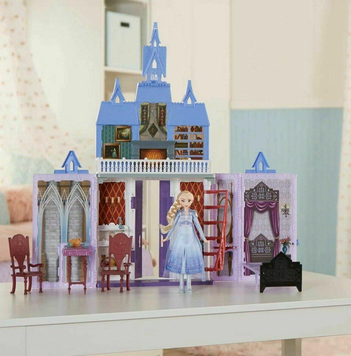 Disney 2 Fold and Castle Dollhouse New