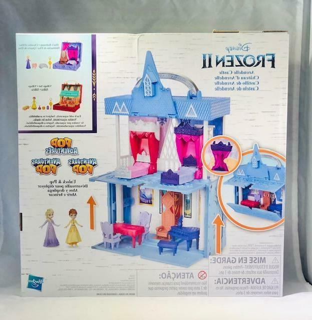 Disney Frozen 2 Pop Adventures Arendelle Castle Girls Play Set New