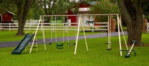 fun fantastic ii swing set