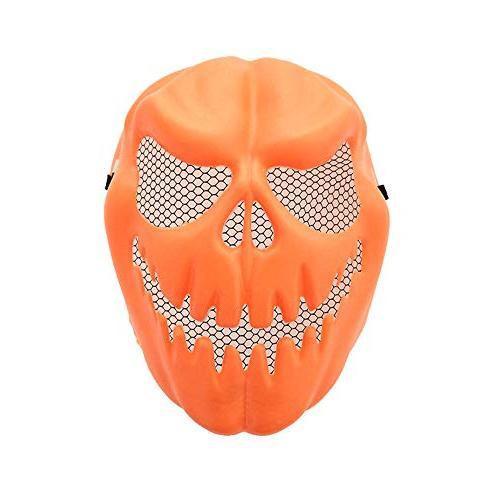 funny pumpkin mask halloween party