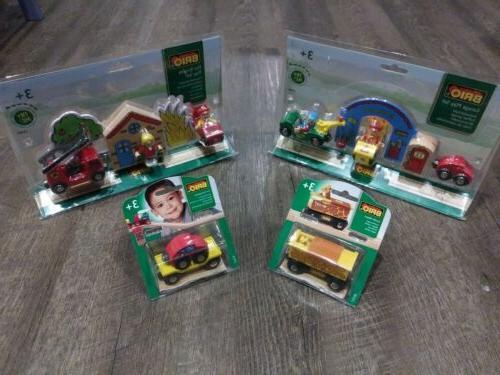 garage play set fire brigade play set