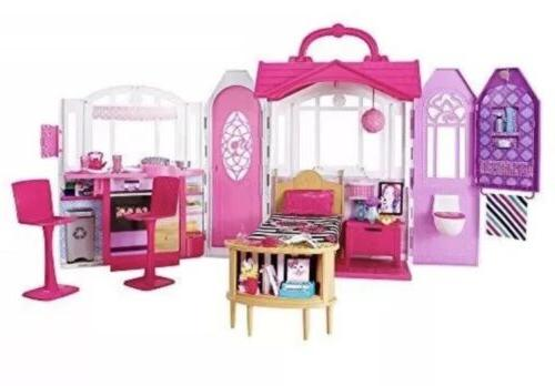 Barbie Glam Getaway House Dollhouse Play Pieces