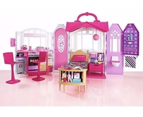 Barbie Glam Dollhouse Set