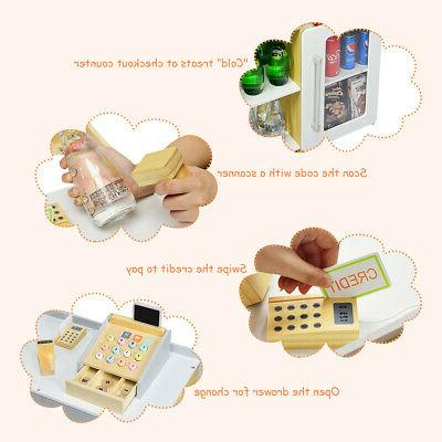 Grocery Pretend Play with