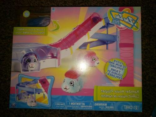 hamster house play set with slide
