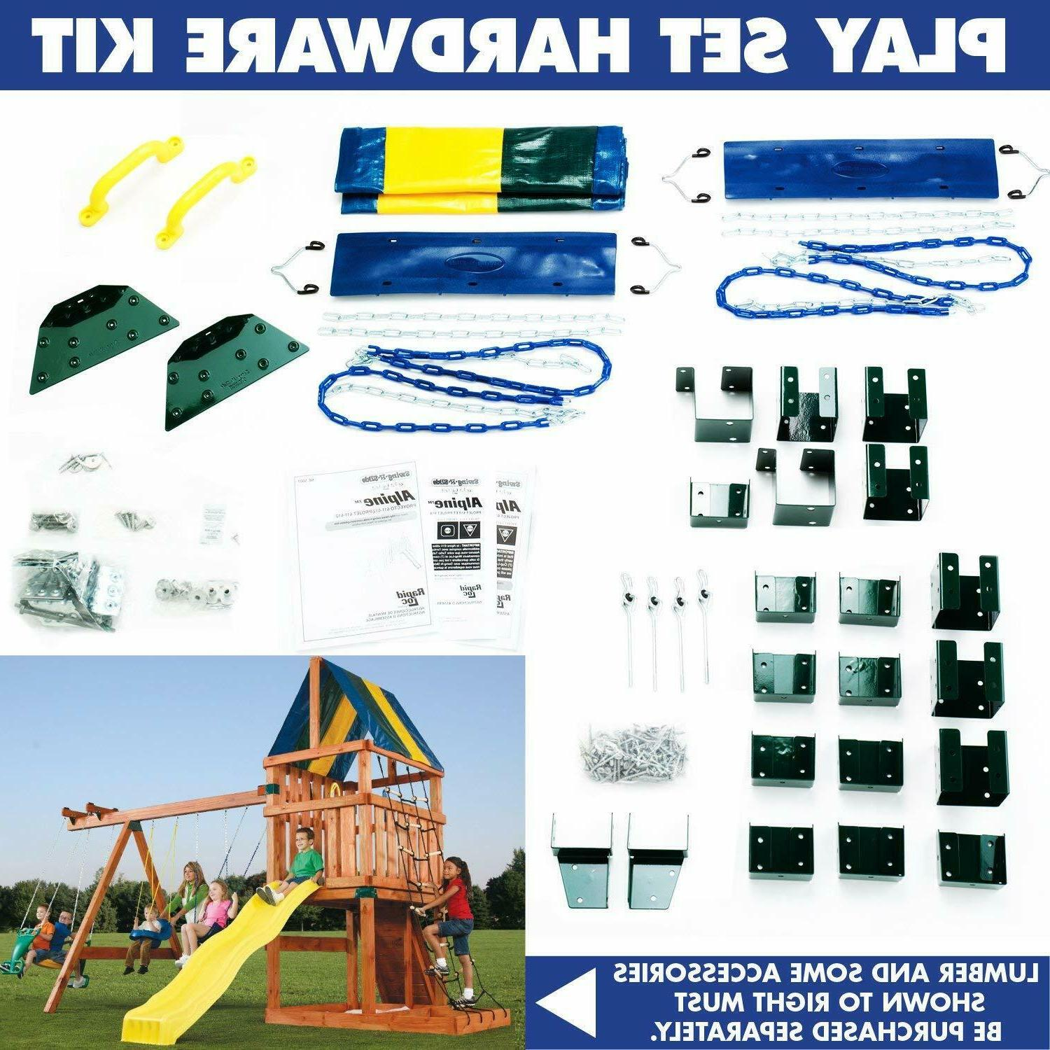 Outdoor Hardware Backyard Play Swing