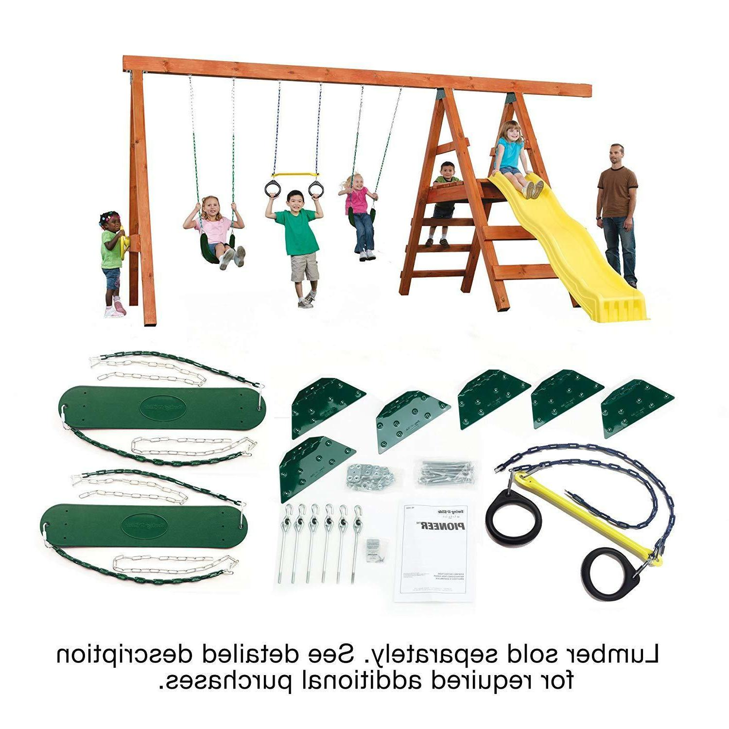 hardware kit for play set kids outdoor