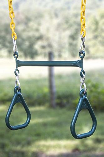 heavy duty playground trapeze bar