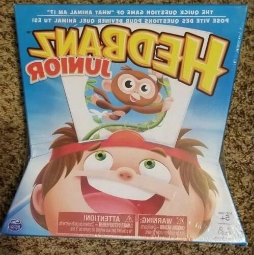 hedbanz hedbanz jr family board game
