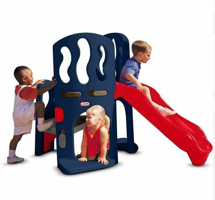 Little Tikes Hide and Seek Slide Climber Outdoor Kids Playgr