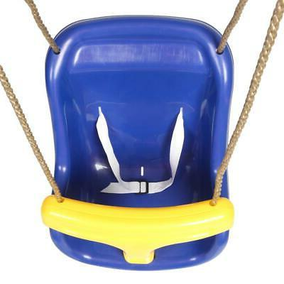 High Wide Child Kid Outdoor Play Set Blue