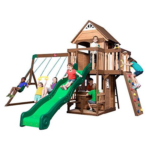 hillbrook wood swing set