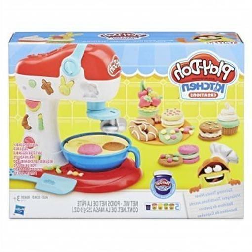 hsbe0102 play doh spinning treats mixer set
